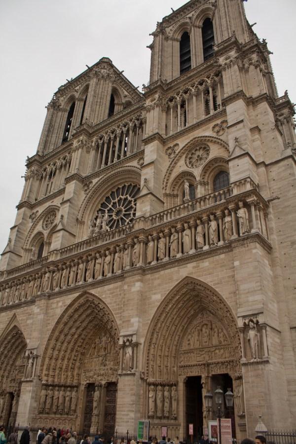 Notre- Dame Cathedral paris