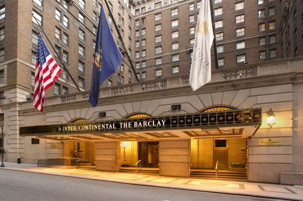 Intercontinental Hotel Barclay