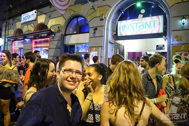 Instant Draws Crowds of Travelers Every Night (image courtesy of instant.co.uk) Budapest's Instant Ruin Bar