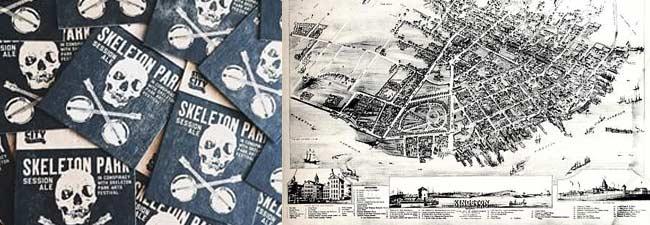 Kingston City Park, Ontario, The Skeleton Town
