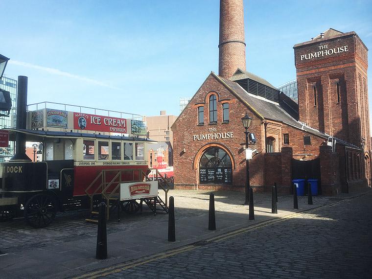 The Pump House Pub at Albert Dock Liverpool