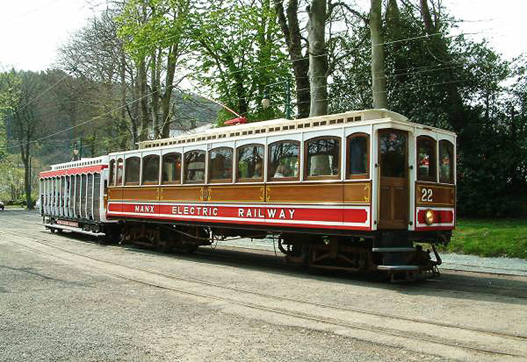 The Isle of Man Trams - the Isle of Man