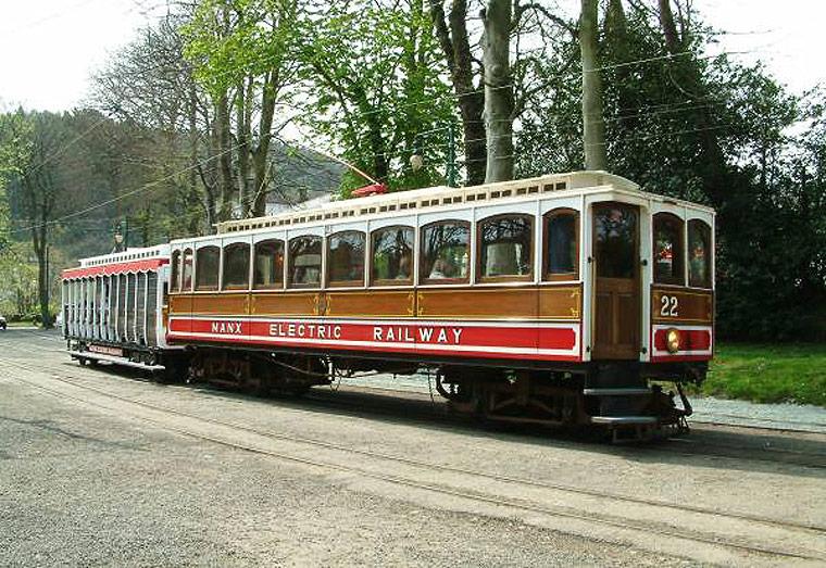 The Isle of Man Trams - the Isle of Man