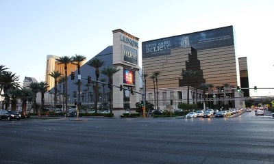 The Luxor Hotel as viewed from the front