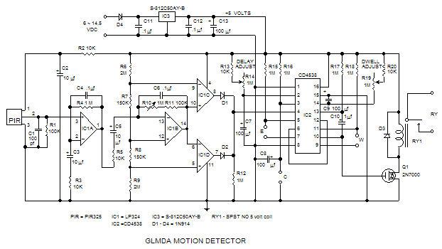 Infrared Motion Sensor Wiring Diagram