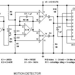 3 Way Motion Sensor Switch Wiring Diagram Gm Map How Infrared Detector Components Work