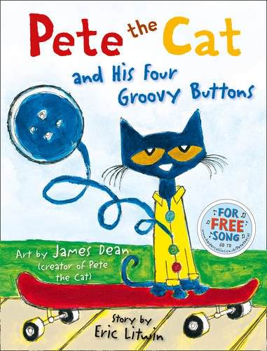 おすすめ英語絵本:Pete the Cat and his Four Groovy Buttons