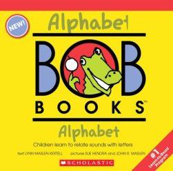 幼児におすすめ英語絵本Alphabet (My First Bob Books)