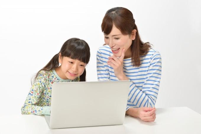 ご家族でオンライン学校見学!気になることがあればその場で質問できるので安心です。