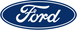 Ford logo, to reflect the importance of branding.