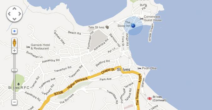 Google Maps UI Controls (PSD)