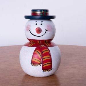Muñeco de nieve country