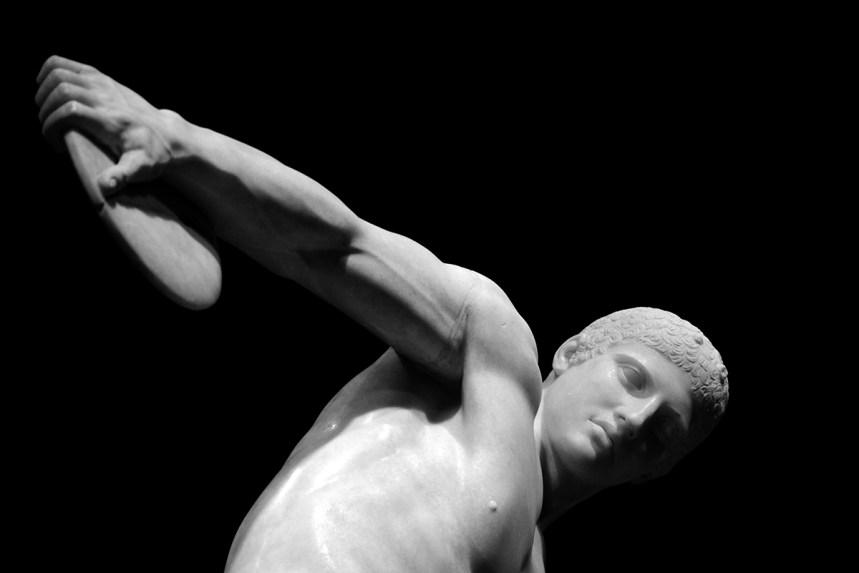 Discobolo Lancellotti - II secolo d.C. - Particolare