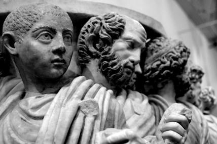 Sarcofago con corteo per l'entrata in carica di un console - 270 d.C.