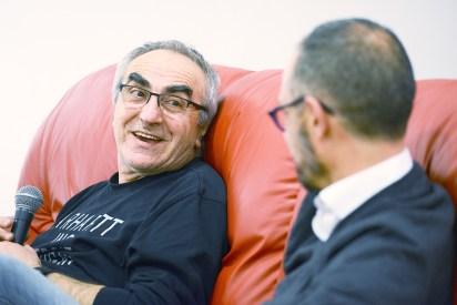 Dicembre 2017 - Tanino Liberatore al Museo del Fumetto di Cosenza