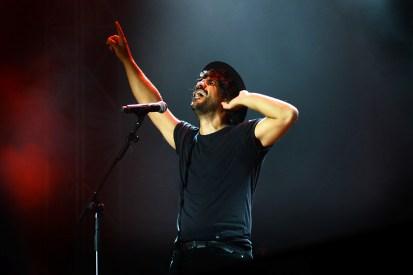 Luglio 2018 - Mannarino a Rock in Roma