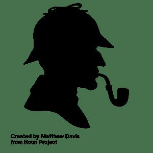 Sherlock Holmes Icon by Matthew Davis at the Noun Project