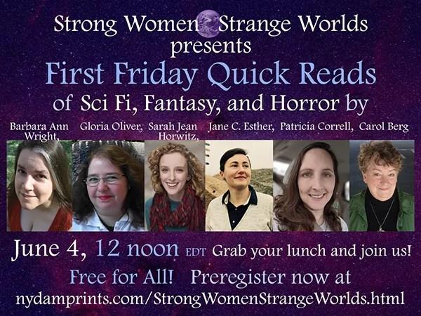 Strong Women - Strange Worlds - June 4th, 2021