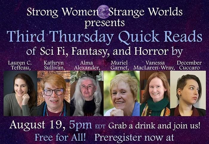 Strong Women - Strange Worlds 8/19/21