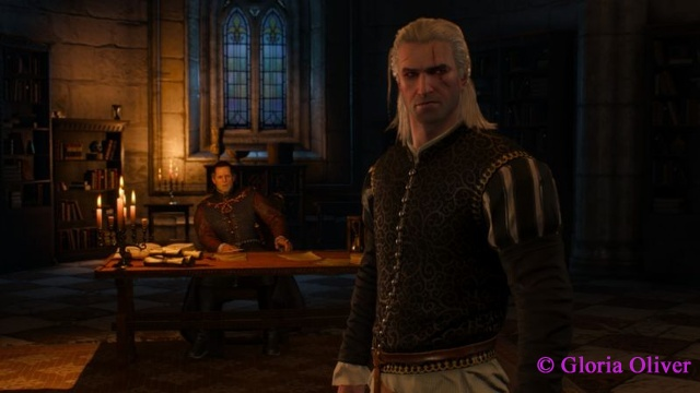 Witcher 3 - royalty and Geralt cleaned up