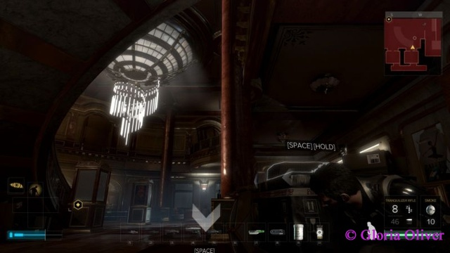 Deus Ex: Mankind Divided - cool room