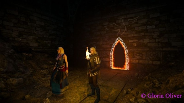 Witcher 3 - elven portal