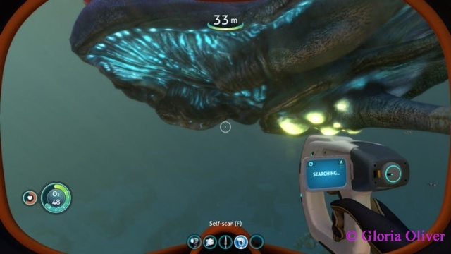 subnautica - the underbelly of the giant beast