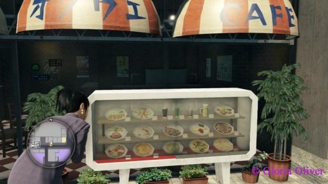 Yakuza 0 - food displau