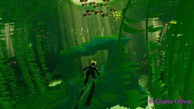 ABZU - underwater plants