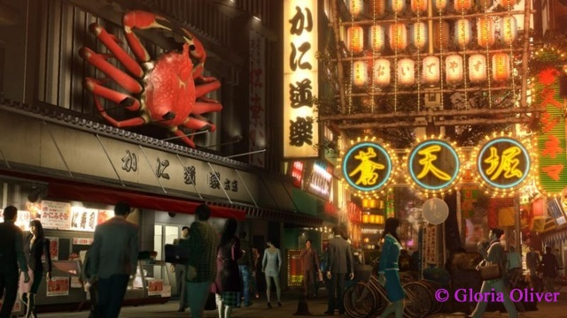 Yakuza 0 - Crab Sign