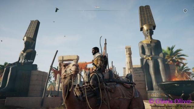 Assassin's Creed Origins - Temple of Amun Entrance