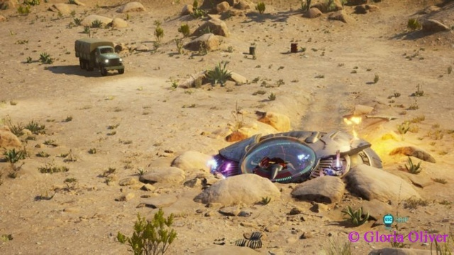 Destroy All Humans - crashed ship