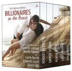 Billionaires on the beach boxset elizabeth lennox, noelle adams, leslie north, liz scott and gloria silk