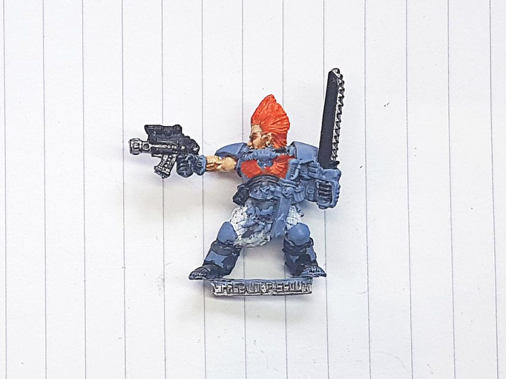 Space Wolf scout, Games Workhsop