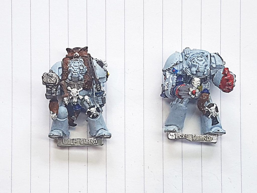 Space Wolves Wolf Guard Terminators, 1992