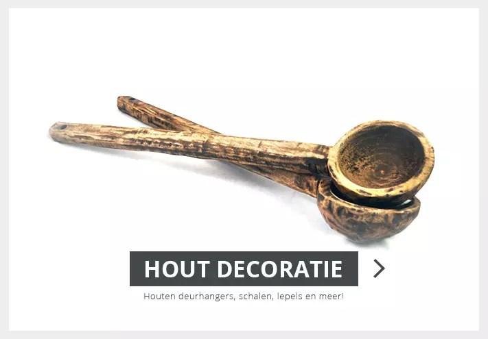 hout decoratie - glorious home