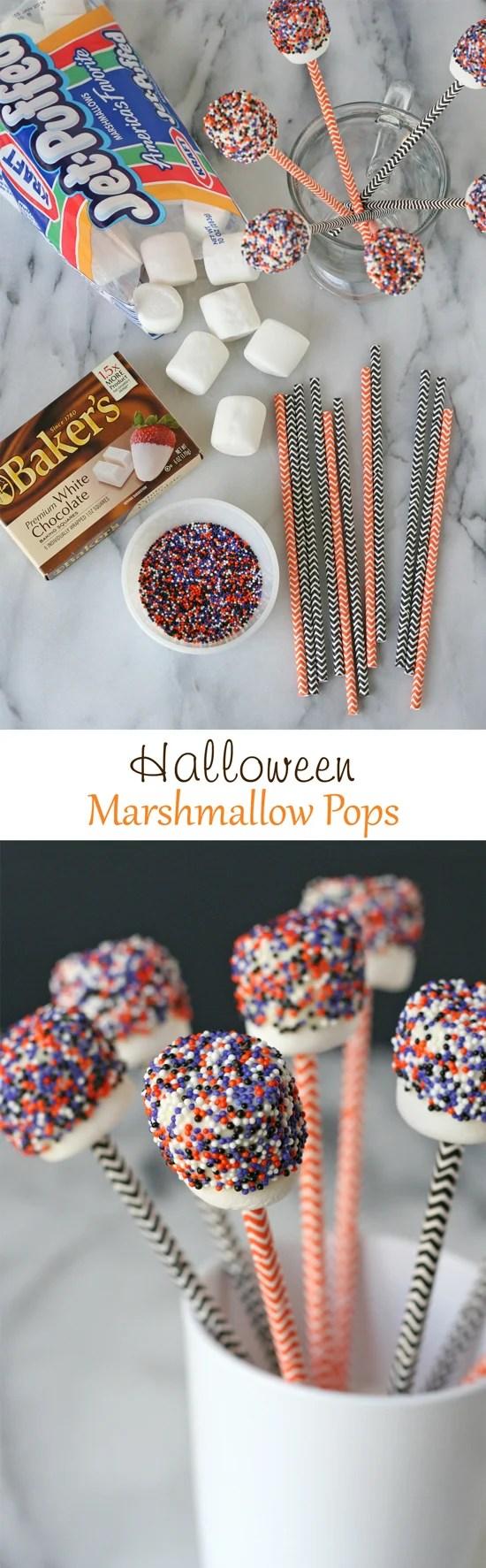 Halloween Marshmallow Pops – Glorious Treats