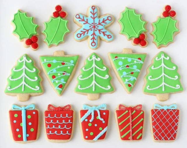Decorated Christmas Cookies - See full post for the most amazing collection of Christmas cookies!
