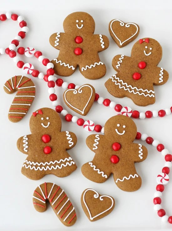 Gingerbread Cookies - Perfectly cute and classic!