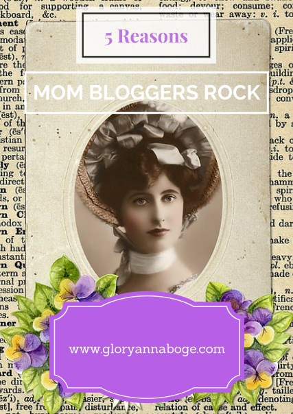 Five Reasons Mom bloggers Rock. Finding your tribe in the mom blogging world.