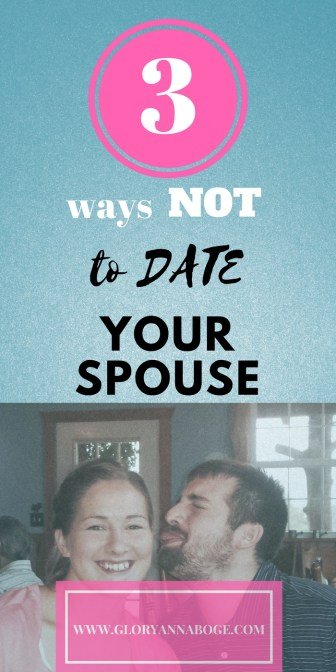 Here's what NOT to do on a date night with your husband. Tips to avoid on date night with your spouse. Here are some tips for date night that you might overlook.