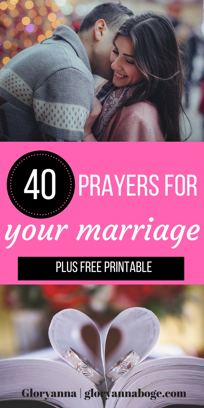 Looking for prayers for your marriage? Want to pray for your husband? Do you want to draw closer to Christ? Take the 40 Day Prayer challenge and pray for your marriage with these marriage prayers.