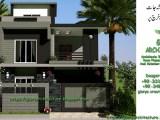 5 marla house elevation-2