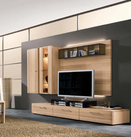t.v wall design ideas