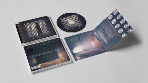 cd-display Johan Spruijt- Een met Jezus