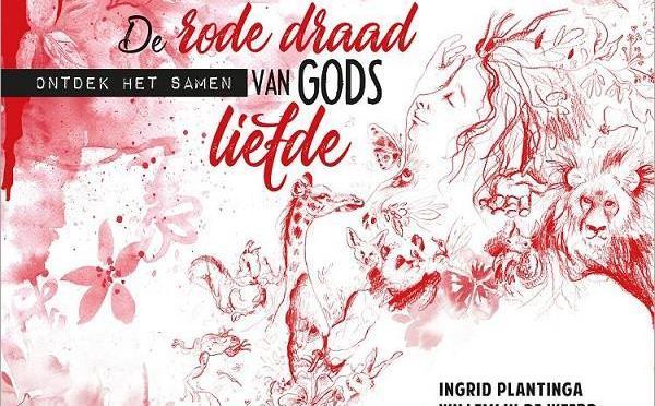 De rode draad van Gods liefde, voorstelling door kinderboekenauteur Willemijn de Weerd.
