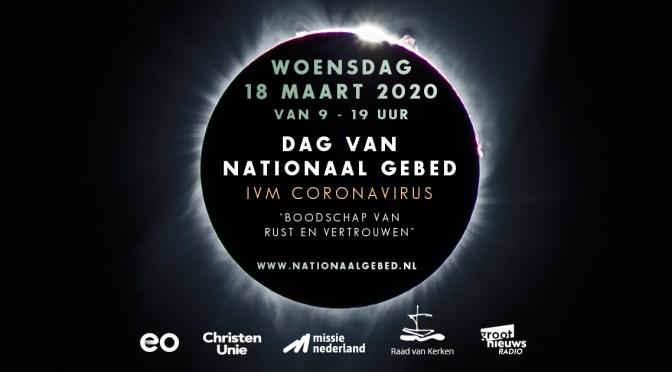 Meer dan honderdduizend Nederlanders sloten vandaag aan bij de Dag van Nationaal Gebed.