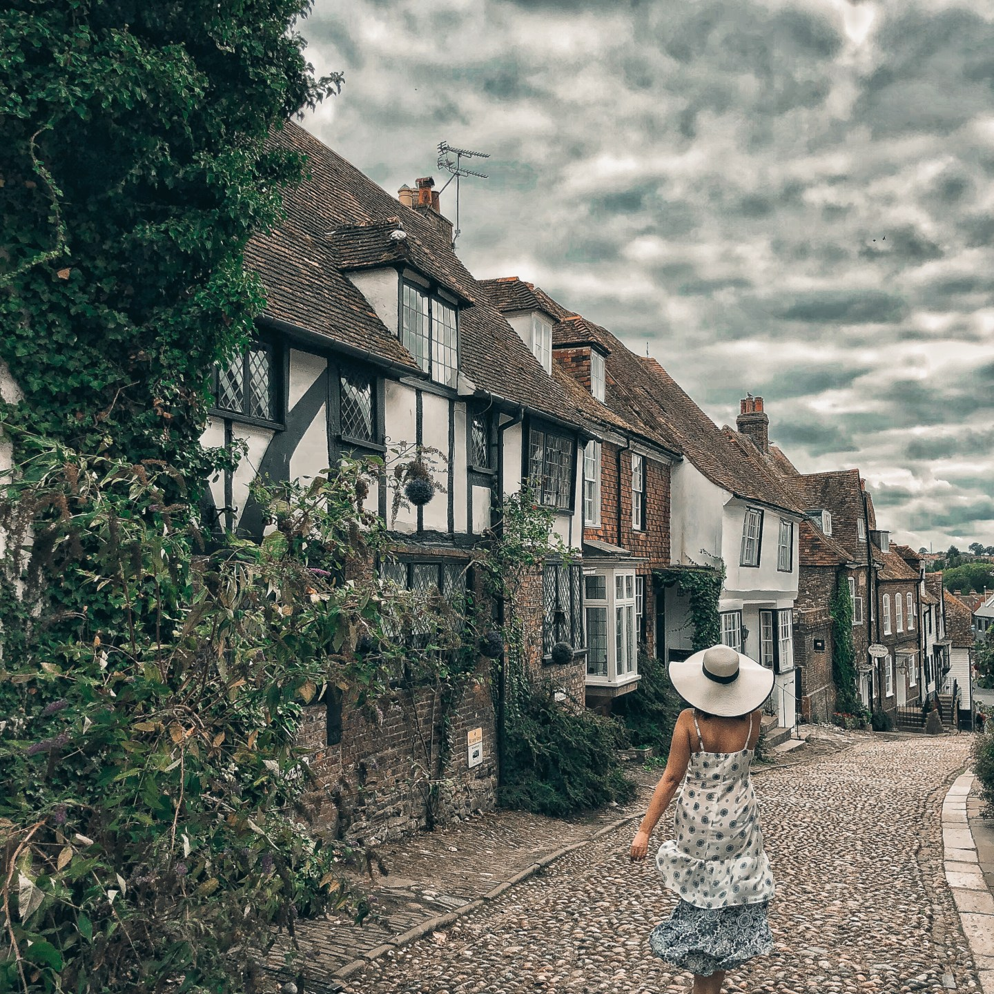 UK STAYCATION IDEAS: Mermaid Street, Rye, East Sussex, UK