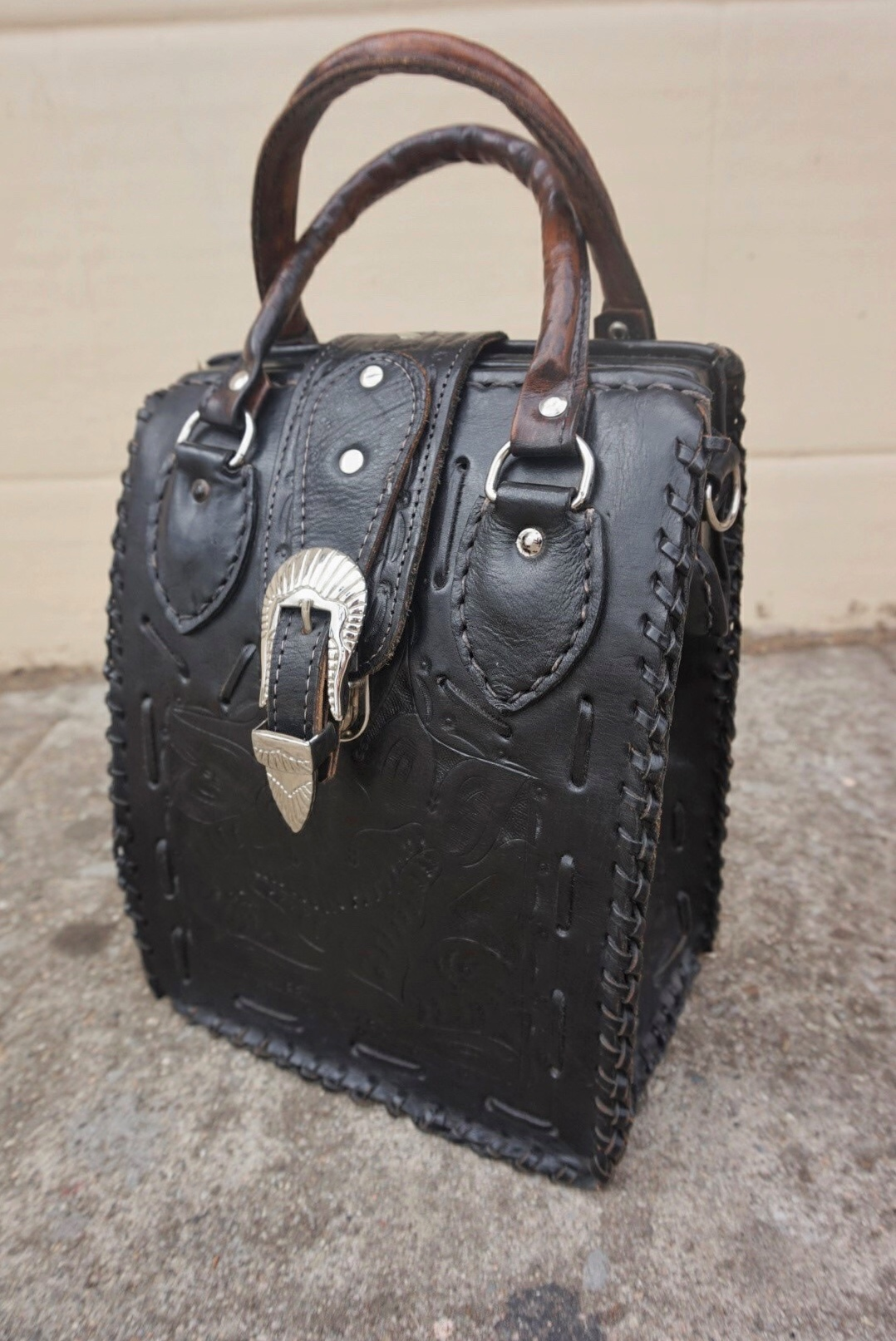Style diaries: unique vintage bag.