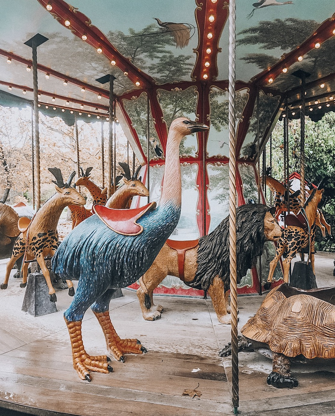 Dodo Manège carousel - unique things to do in Paris, unusual things to do in Paris, quirky things to do in Paris